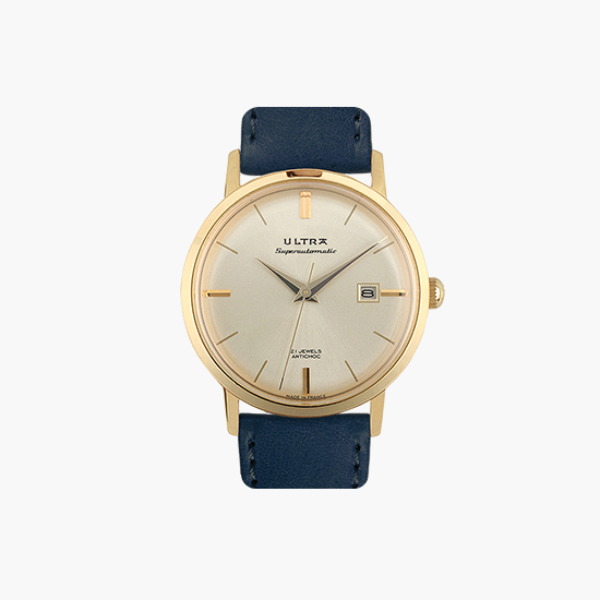 SUPERAUTOMATIC Navy gold US22R8